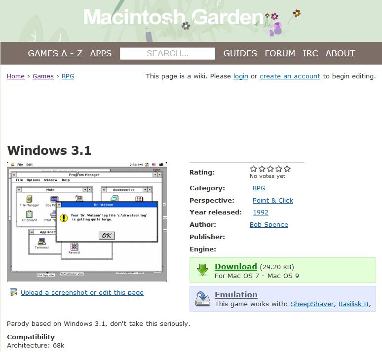 Fun with Windows 3.1 Revisited
