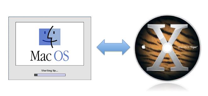 Sharing Files Between Mac OS X and Mac OS 8.1