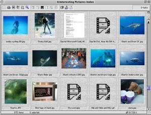 QPict Browsing a Folder