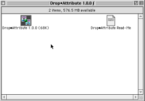 DropAttribute 0
