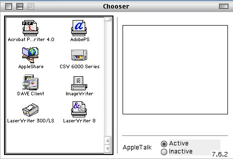 Chooser w Dave Client