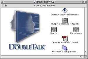 DoubleTalk. Install Folder