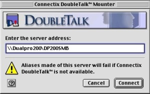 DoubleTalk Mounter