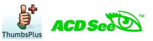 ThumbsPlus and ACDSee Logos