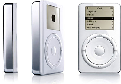 Impressions of a First Generation iPod | Quadras, Cubes ...