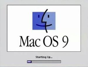 Mac OS 9.0 Loading