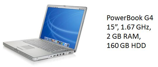 PowerBook G4 Cover Image