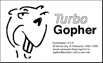 TurboGopher About Screen