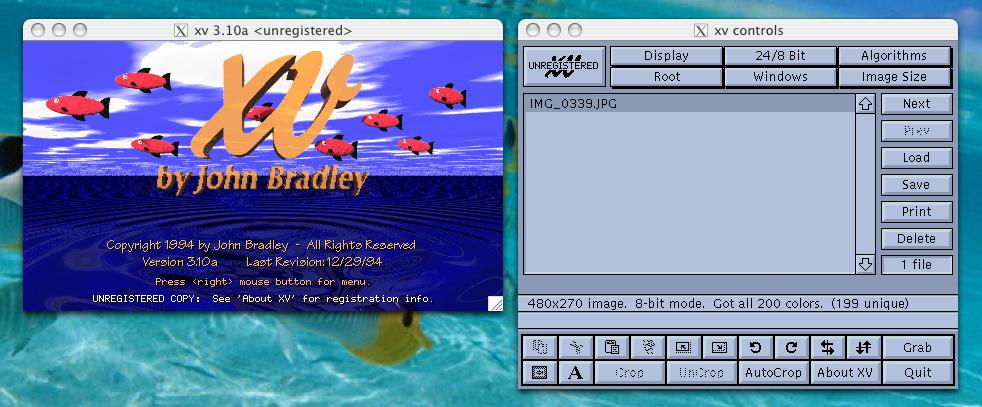 xv on Desktop