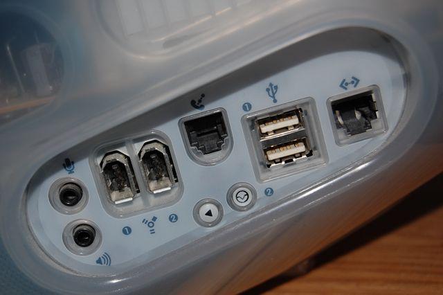 G3 iMac Ports