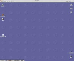 SheepShaver OS 9 Running