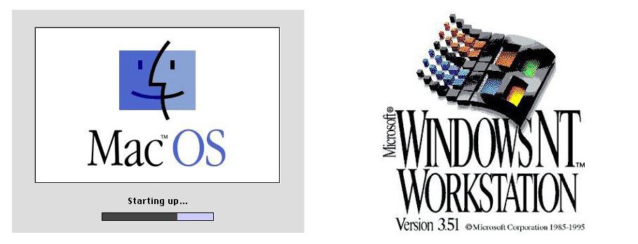 Mac OS and Win NT 351