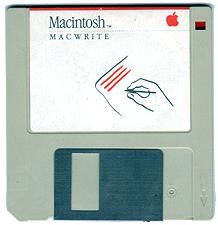 MacWrite Floppy