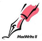 MacWrite II Logo