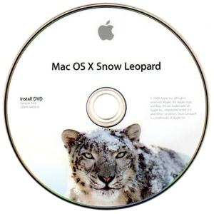 Mac OS X Snow Leopard Install Disk