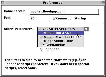 2 - Default Font, Size