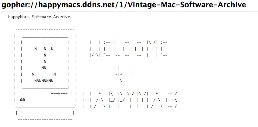 HappyMacs Software Archive