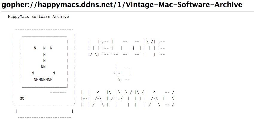 HappyMacs Software Archive