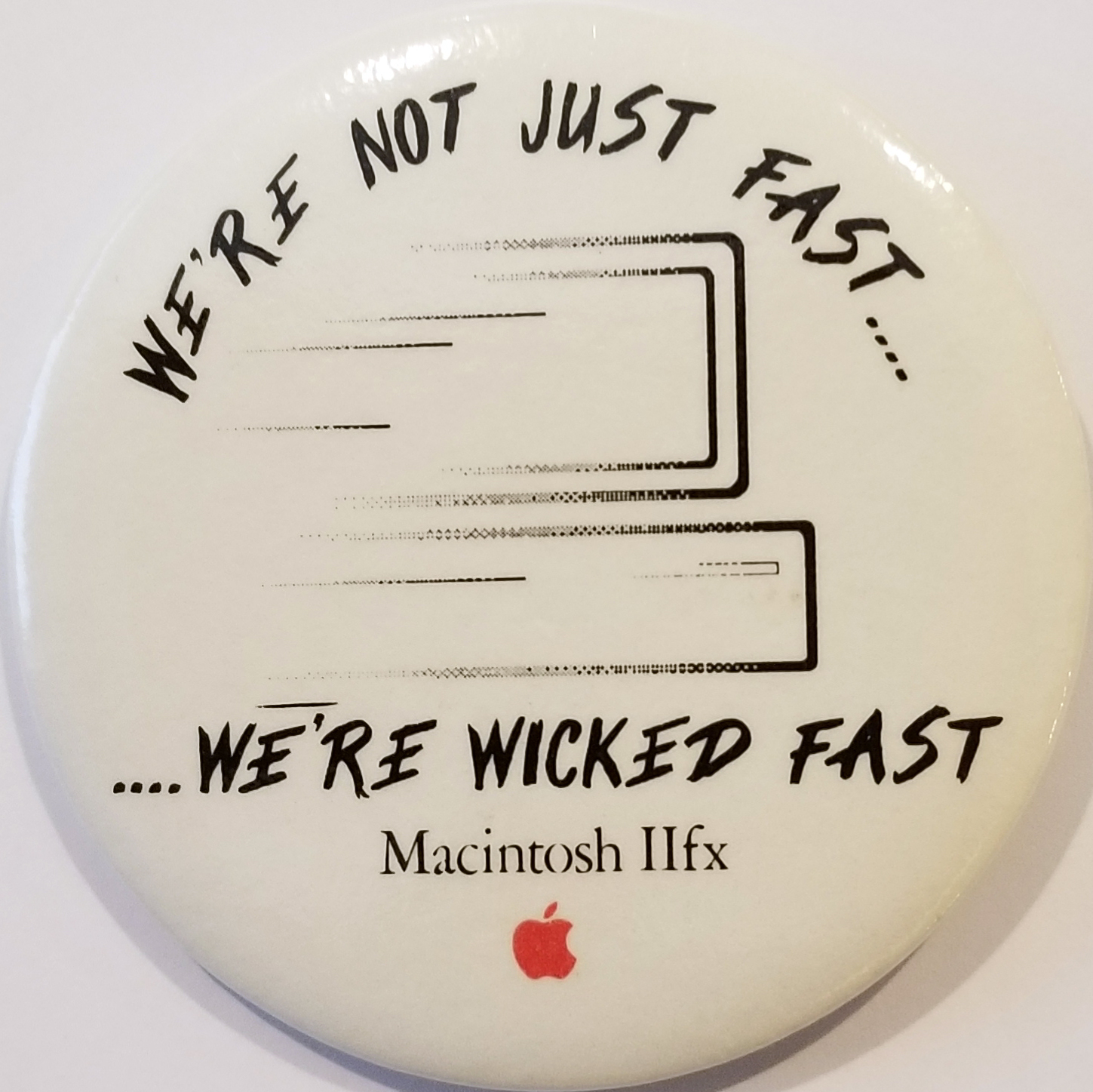 Wicked Fast Pin (Cropped)